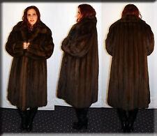 New Reversible Russian Sable Fur Coat Size Large 10 12 L Efurs4less