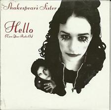 SHAKESPEAR'S SISTER Hello 7inch VERS PROMO DJ CD Single