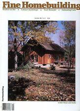 Fine Homebuilding Magazine June/July 1985 Routers on Site, Corian Countertops