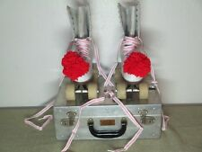 "Women's Size-7 ""Official"" Roller Derby Skates~Roller Derby Wood Wheels & Plates"