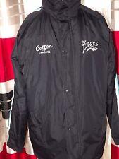 2008-10 Sale Sharks Rugby Jacket EXCELLENT (M) Shirt Jersey Trikot Maglia