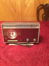 Vintage Sharp Telechron Model FXC-29 Transistor Solid State Clock Radio