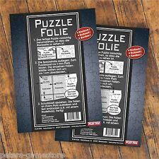 2x Puzzlekleber Puzzlefolie Neu  SONDERAKTION!!