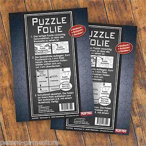 2x Puzzlekleber Puzzlefolie Conserver fix gemacht für 2 x 1000 Teile Puzzle