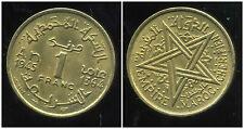 MAROC 1 franc 1945  ( TTB + )