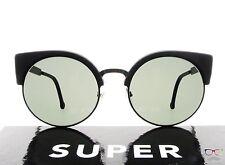 RETROSUPERFUTURE Super Sunglasses Ilaria Black Matte AWW / Black LensAuthentic