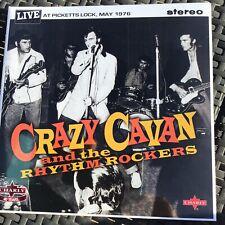 "Crazy Cavan & The Rhythm Rockers - Live At Picetts Lock - Double 10"" LP"