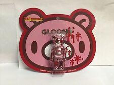 Be@rbrick Gloomy Ver 3.0 100% Metallic Pink Ver3.0 Bearbrick 1P