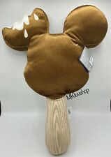 Disney Parks Food Series Mickey Mouse Ice Cream Bar Chocolate Scented Plush Nwt