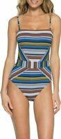 Becca Babylon Ellie Bandeau One Piece Swimsuit Size M Medium