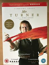 TIMOTHY SPALL Mr. Turner ~ 2014 ARTIST PAINTER Biografía Drama GB DVD con /