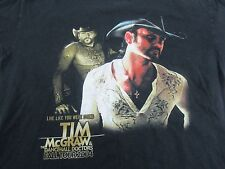 Tim McGraw and the Dancehall Doctors 2004 Concert Tour T-Shirt Size Adult M