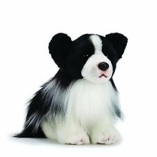 Border Collie Dog Soft Plush Toy NEW Smaller 24cm/9.5inches Quality Nat & Jules