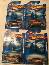 2008 Hot Wheels  Exclusive K-Mart Mail-In Set Of 40th Anniversary Of HW Cars