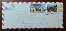 1972 Liberia Airmail Covers from Hotel Ducor, Monrovia, Liberia to Castleton