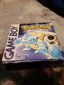 Pokemon Blu Con Scatola Originale