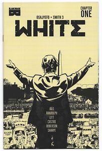 White #1 2021 Unread 3rd Print Khary Randolph Variant Cover Black Mask Comic