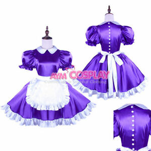 Satin sissy maid dress with uniform Tailor-made@