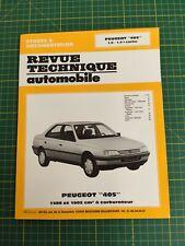 Revue technique automobile - Peugeot 405 Paperback
