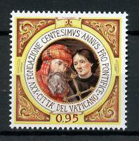 Vatican City 2018 MNH Centesimus Annus Pro Pontifice Foundation 1v Set Stamps