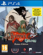 The Banner Saga Trilogy Bonus Edition PS4 Game