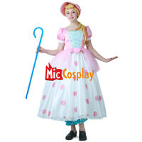 Little Shepherdess Cosplay Dress Costume with Hat