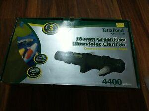 Tetra Pond GreenFree Ultraviolet Clarifier 18 watt for ponds up to 4,400 Gallons