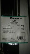 "PANDUIT 28"" CABLE TIES/ZIP TIES QTY 25 PLT8LH-Q0"
