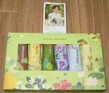 EXO K-POP NATURE REPUBLIC NEW VERSION OFFICIAL 6 HAND CREAM + PHOTOCARD SET
