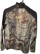 Under Armour Dri Fit Camouflage Mock Neck Shirt  Men's Medium