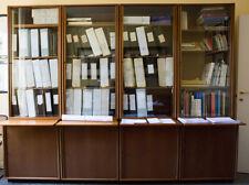 Osvaldo Borsani TECNO libreria per ufficio in palissandro 4 moduli