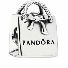 NEW AUTHENTIC Genuine Pandora Shopping Bag charm Silver S925 ALE 791184