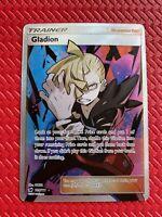 Pokemon Card : SM CRIMSON INVASION GLADION 109/111 FULL ART Supporter 📈 NM-M
