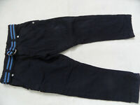 STEIFF tolle gefütterte Hose mit Gürtel dunkelblau Gr. 104 NEU ST519