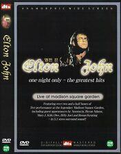 Elton John - One Night Only (2000) Madison Squre Garden DVD NEW *FAST SHIPPING*