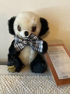 Merrythought little Cheeky Panda Limited Edition 240/500 Mohair Collectible Rare