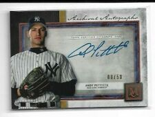 ANDY PETTITTE 2020 Topps Museum Collection On Card Auto 8/50 - YANKEES (aw)