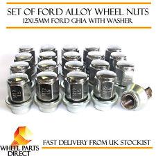 Ensemble de 20 12x1.5 mm Ford Original Oem alliage écrous de roue lug GHIA boulons avec rondelle