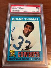 1971 Topps Football PSA 7 Duane Thomas #65