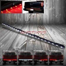"""48"""" Red/White 72 LED Bulb Turn/Break Signal+Reverse Tailgate Light Bar Strip"""