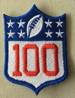 "NATIONAL FOOTBALL LEAGUE 100TH ANNIVERSARY SLEEVE PATCH 3""  NFL 2019 2020 SEASON"