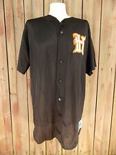 Houston Baseball Jersey Black Authentic Majestic Apparel Size Large Men's