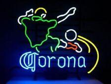 """New Corona Extra Light Football Neon Sign 17""""x14"""" Ship From Usa"""