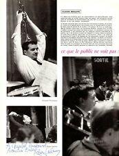 """ROGER GUERIN Jazz Trumpeter & Vocalist signed May 1957 French """"Jazz Magazine"""""""