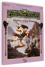 Dungeons & Dragons FORGOTTEN REALMS NIGHTMARE KEEP (FA2) 1991 TSR #9341 AD&D D&D