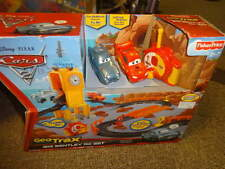NIB NEW FISHER PRICE GEO TRAX DISNEY CARS BIG BENTLEY RC SET