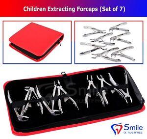 Pediatric Dental Extraction Forceps Pedo Forcep for Children Pedo Forcipi New CE