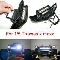 Front Bumper 7 LED Licht Bar Lamp Mount für 1/5 Traxxas X-MAXX XMAXX RC Auto Car