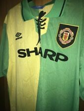 9536771321b Retro Manchester United 1992-94 Medium Shirt Newton Heath Man Utd CANTONA