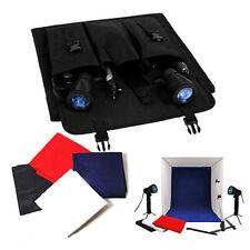 40cm Photography Photo Studio Softbox Light Tent Cube Box Lighting Backdrops Kit